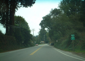 San Lorenzo Valley Highway 9 Corridor