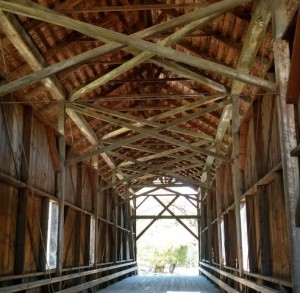 Felton Covered Bridge Roof Restoration