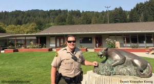 SLV High School Welcomes Deputy Kris Koenig